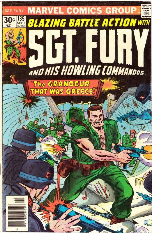 Couverture de Sgt. Fury and his Howling Commandos (Marvel - 1963) -135-