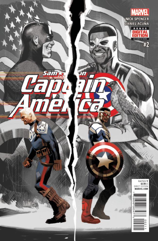 Couverture de Captain America: Sam Wilson (2015) -2- Untitled