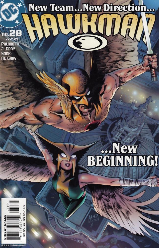 Couverture de Hawkman Vol.4 (DC comics - 2002) -28- Fate's warning part 1 of 4