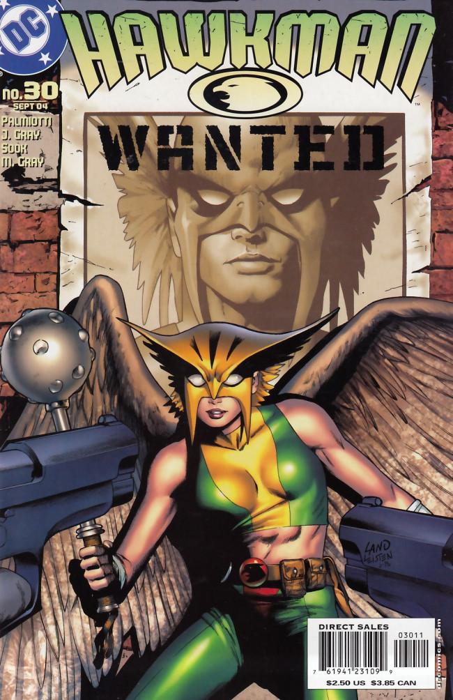 Couverture de Hawkman Vol.4 (DC comics - 2002) -30- Fate's warning
