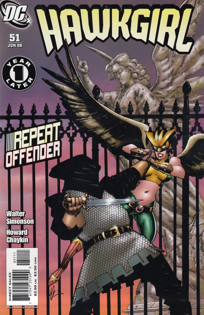 Couverture de Hawkman Vol.4 (DC comics - 2002) -51- Things that go bump in the night
