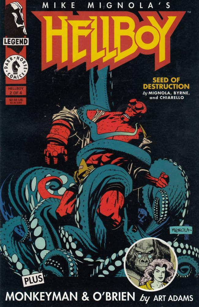Couverture de Hellboy (1994) -2- Seeds of destruction Part 2