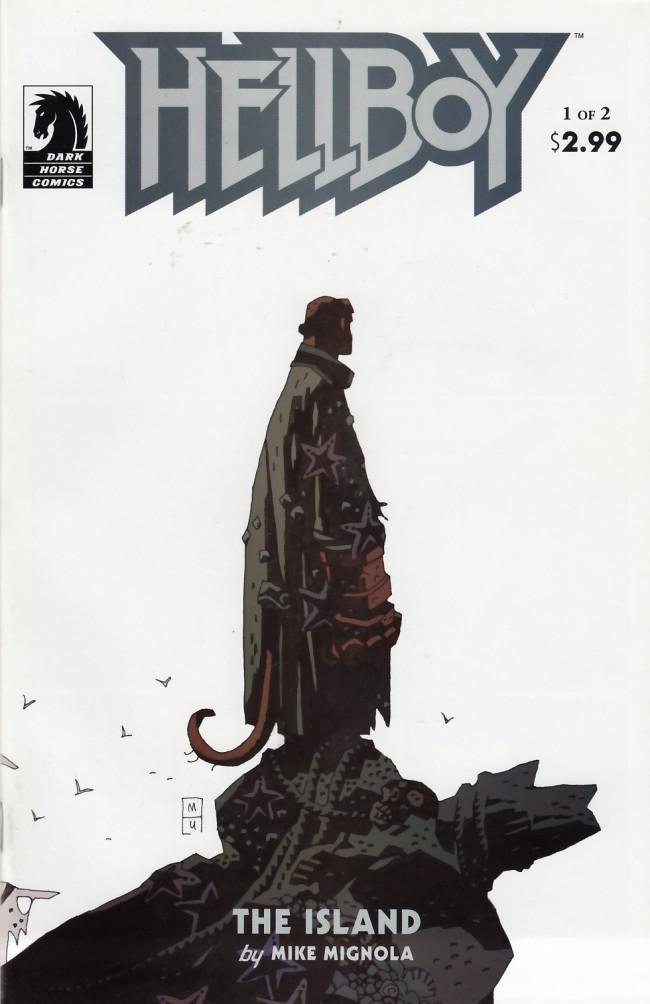 Couverture de Hellboy (1994) -23- The island part 1