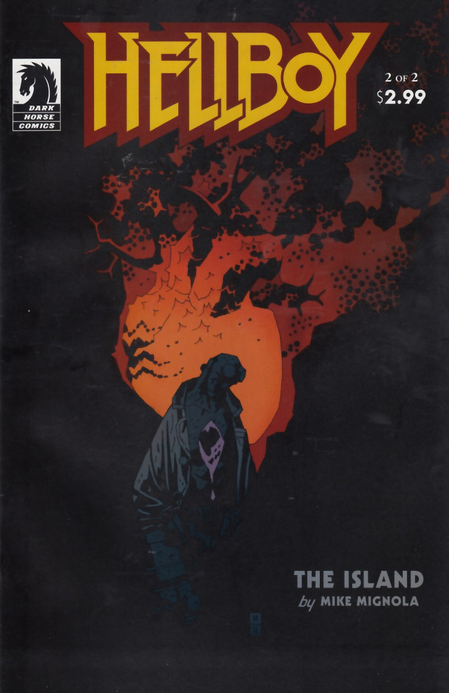 Couverture de Hellboy (1994) -24- The island part 2