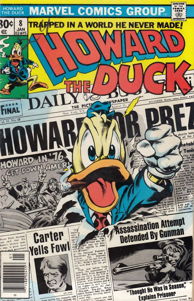 Couverture de Howard the Duck (1976) -8- Open season!