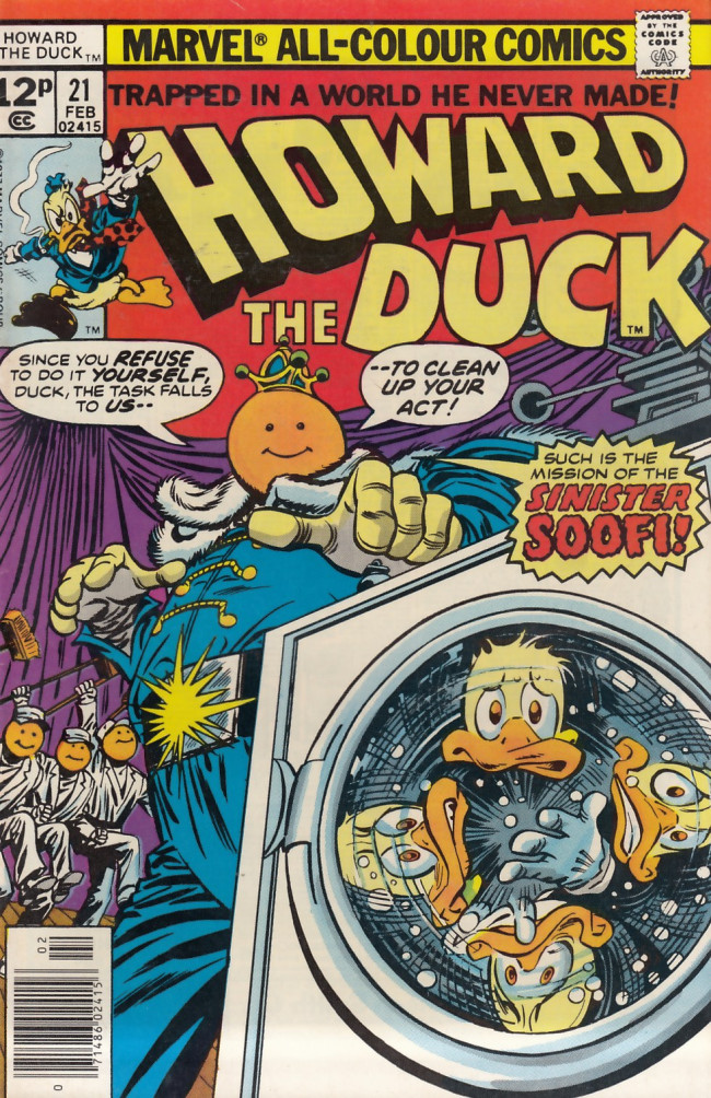 Couverture de Howard the Duck (1976) -21UK- If you knew Soofi...!