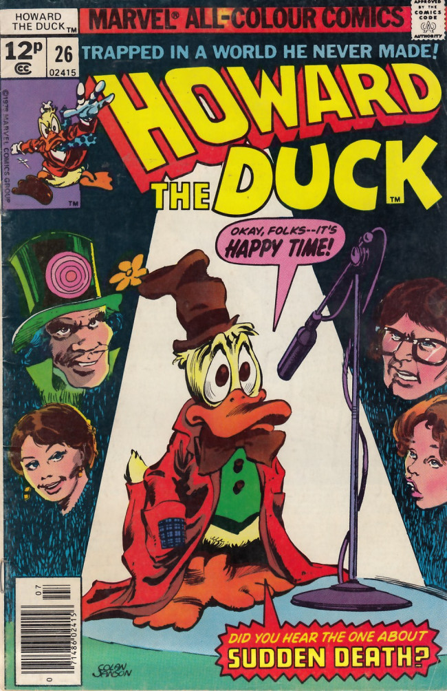 Couverture de Howard the Duck (1976) -26UK- Repercussions...!