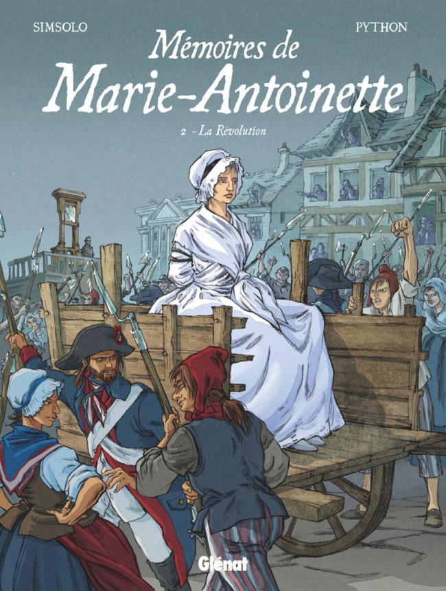 Couverture de Mémoires de Marie-Antoinette -2- Révolution