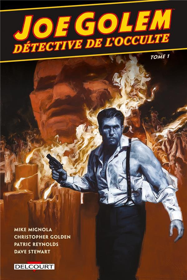 Couverture de Joe Golem, détective de l'occulte -1- Le Chasseur de rats & Sous l'eau, les morts