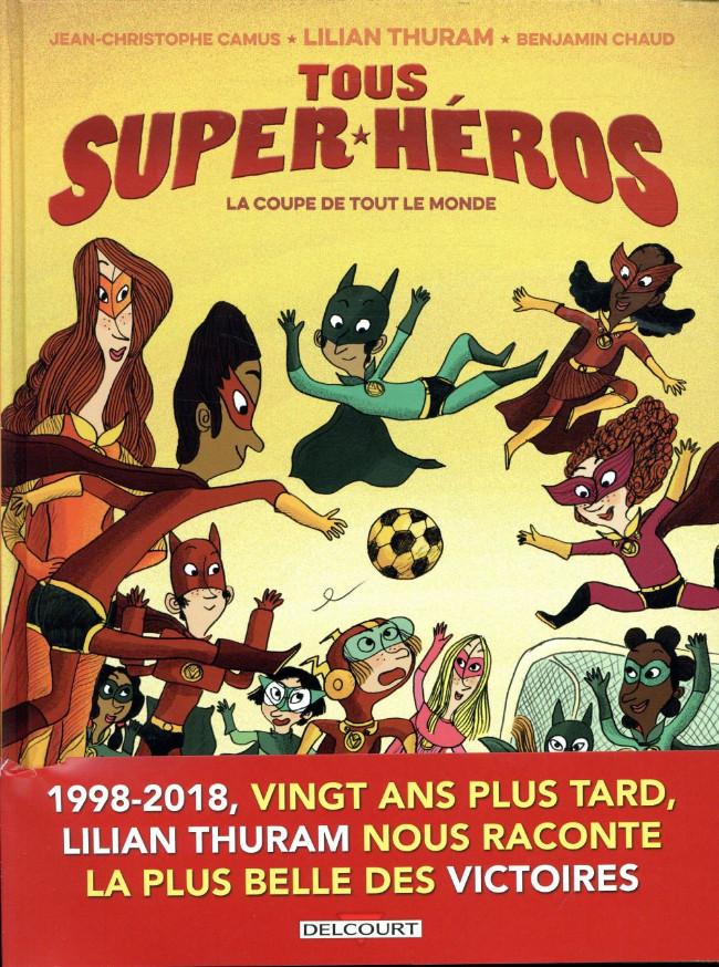 Couverture de Tous super-héros -2- La coupe de tout le monde
