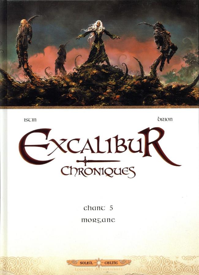 Couverture de Excalibur - Chroniques -5- Morgane