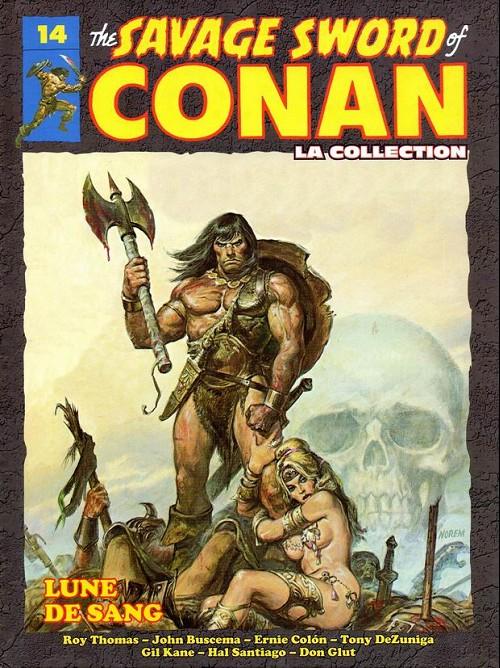 Couverture de Savage Sword of Conan (The) - La Collection (Hachette) -14- Lune de sang