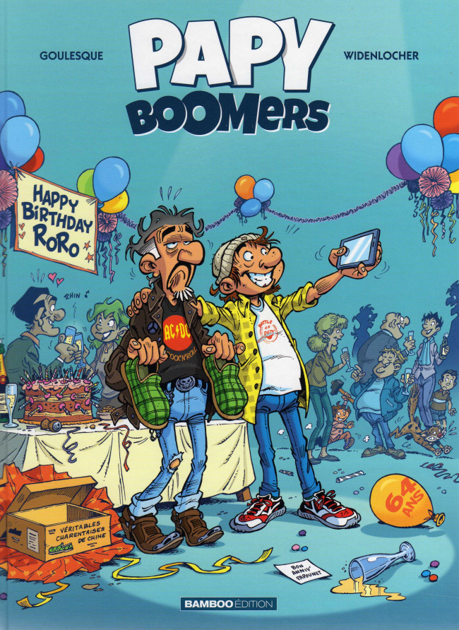 Couverture de Papy boomers -1- Tome 1