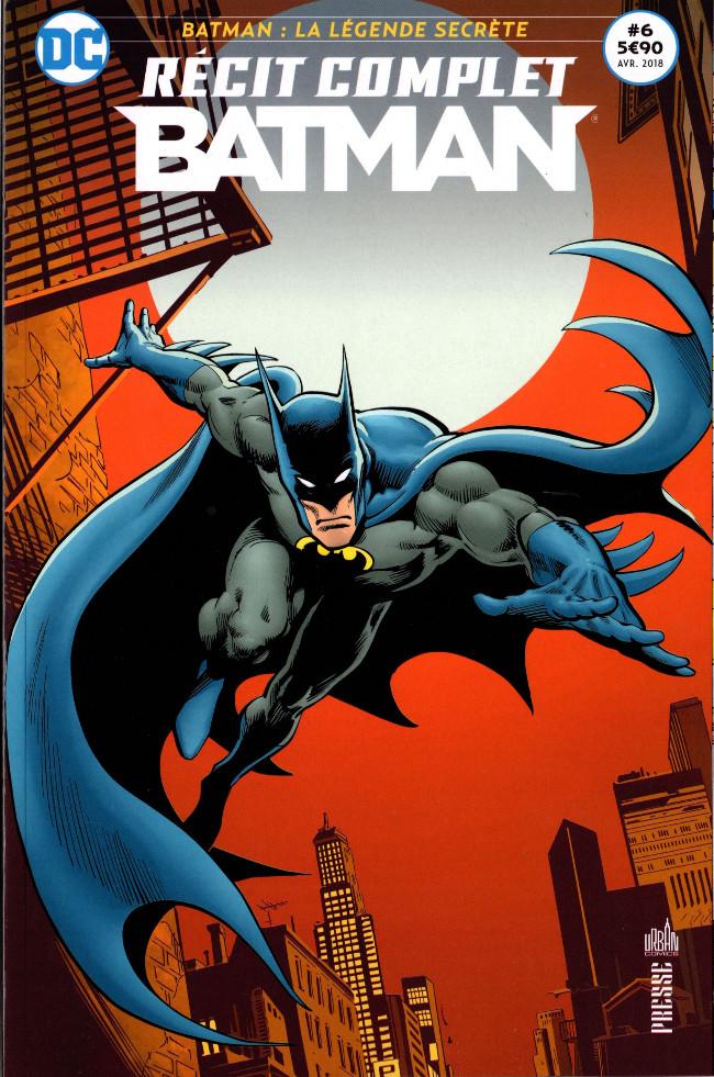 Couverture de Batman - Récit Complet (DC Presse) -6- Batman : La légende secrète