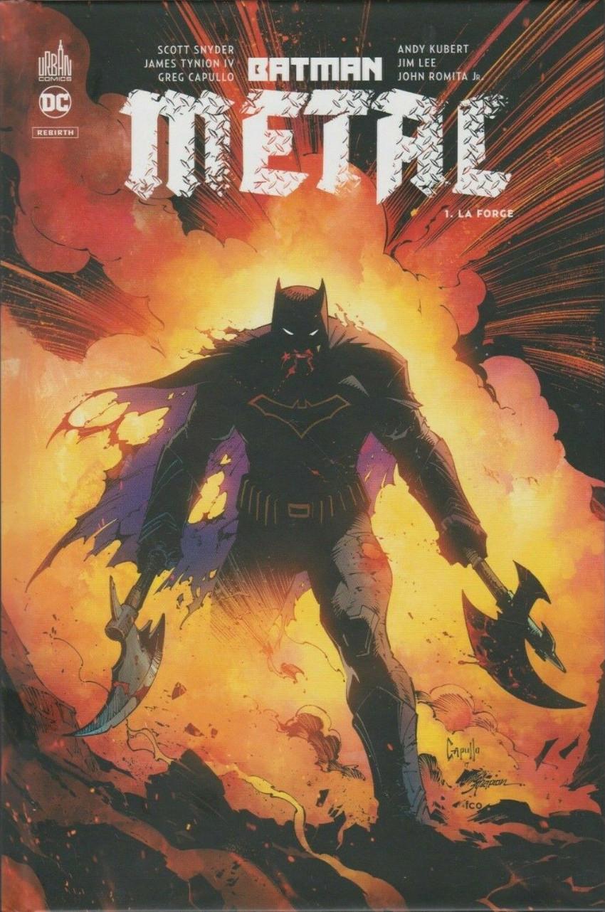 Couverture de Batman Metal -1- La Forge