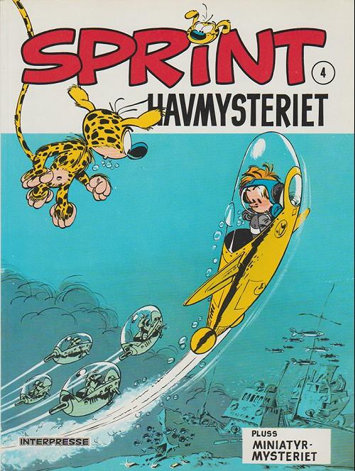 Couverture de Sprint -4- Havmysteriet