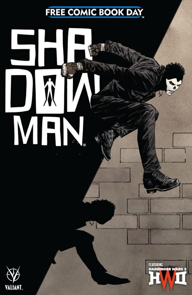 Couverture de Free Comic Book Day 2018 - Shadowman