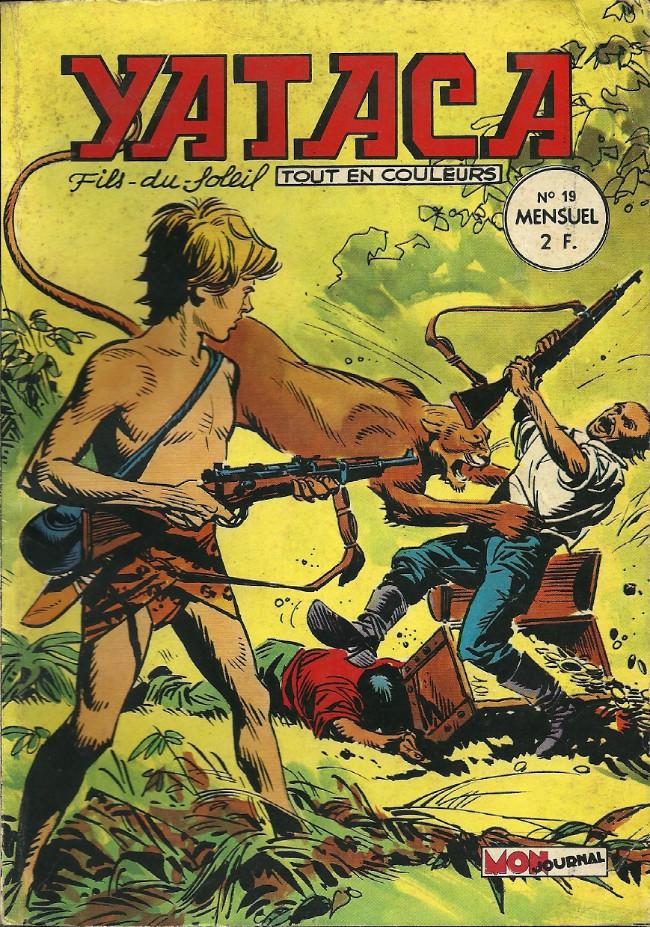 Couverture de Yataca (Fils-du-Soleil) -19- Les aventuriers de l'or
