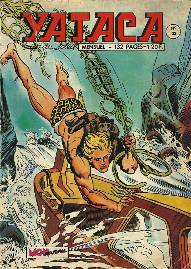 Couverture de Yataca (Fils-du-Soleil) -23- Le monstre de la rivière