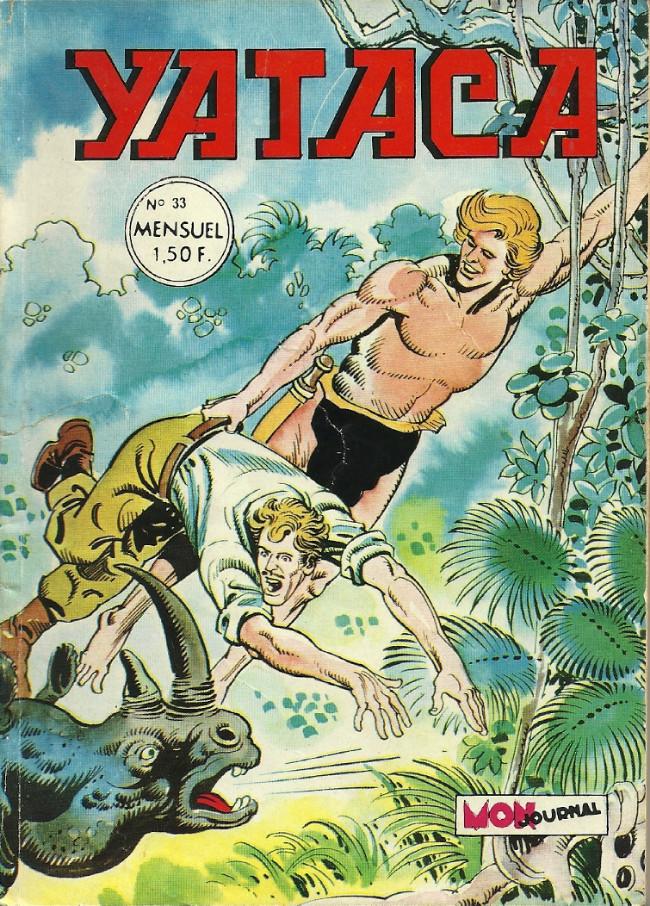 Couverture de Yataca (Fils-du-Soleil) -33- Le diabolique docteur Marabunta