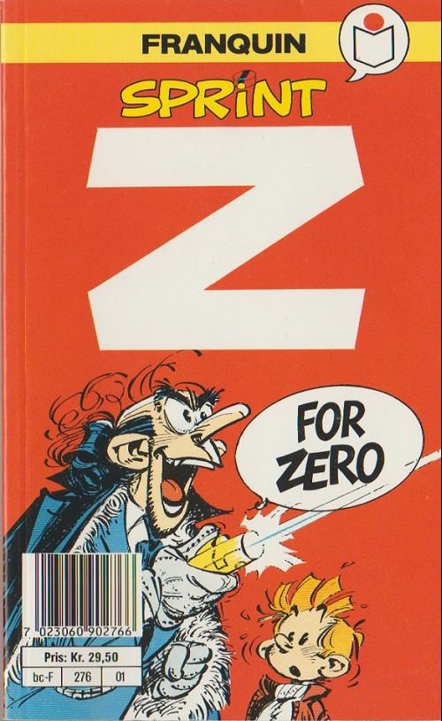 Couverture de Sprint -2- Z for zero