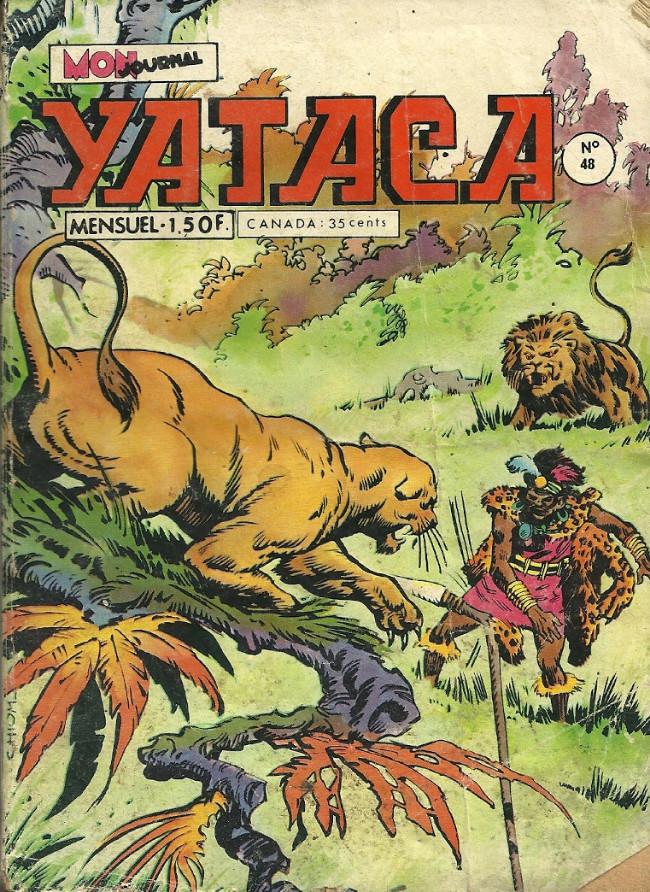 Couverture de Yataca (Fils-du-Soleil) -48- Les panthères de gurru