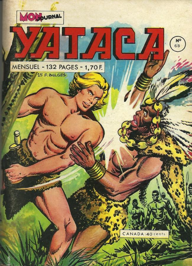 Couverture de Yataca (Fils-du-Soleil) -68- La rivière qui meurt