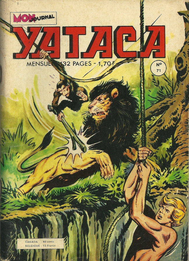 Couverture de Yataca (Fils-du-Soleil) -71- Les massacreurs