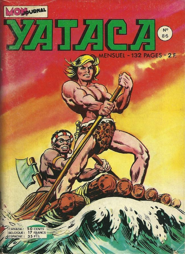 Couverture de Yataca (Fils-du-Soleil) -86- Les tambours de guerre
