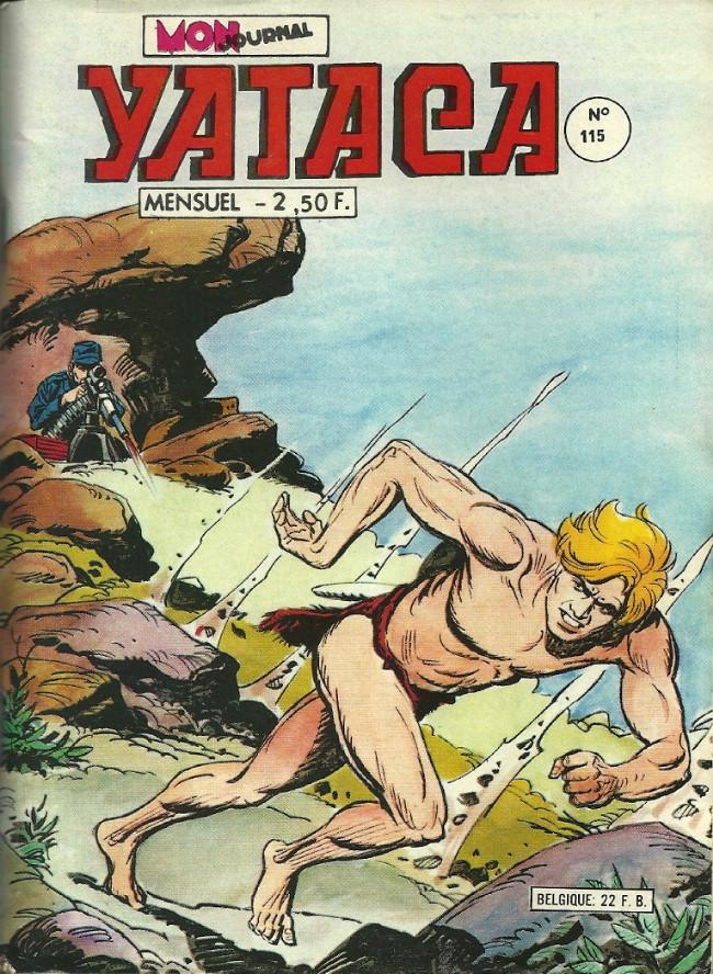 Couverture de Yataca (Fils-du-Soleil) -115- Le mercenaire