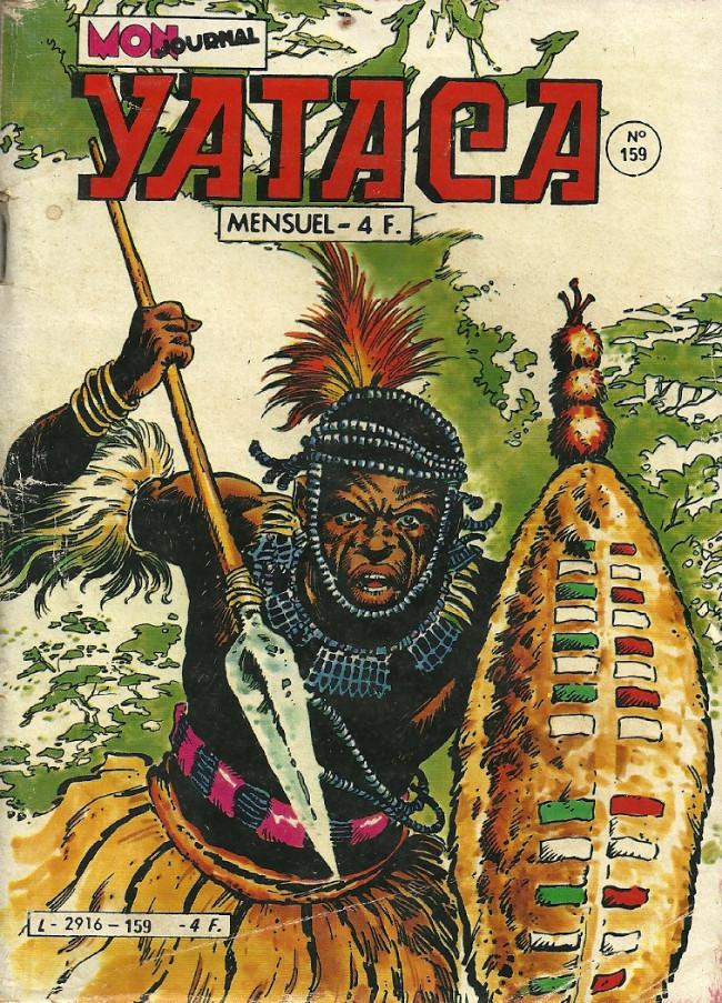 Couverture de Yataca (Fils-du-Soleil) -159- Terreur sur le fleuve