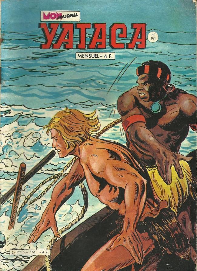 Couverture de Yataca (Fils-du-Soleil) -161- Le monstre du lac