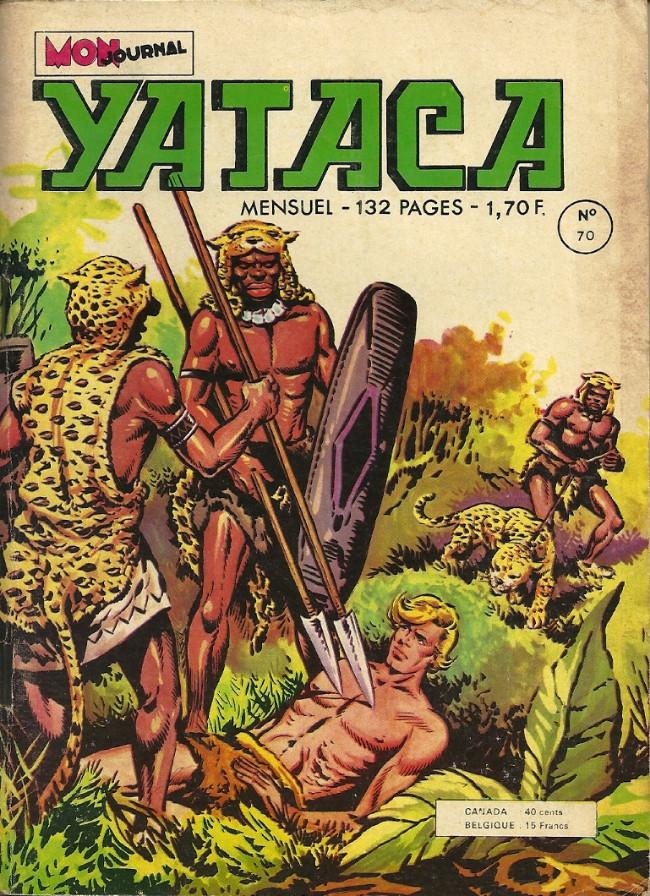 Couverture de Yataca (Fils-du-Soleil) -70- La reine des brumes