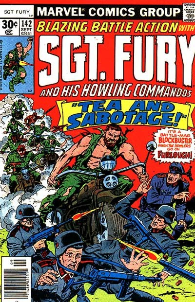 Couverture de Sgt. Fury and his Howling Commandos (Marvel - 1963) -142-