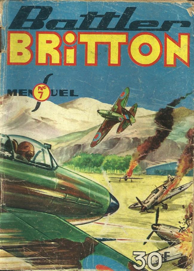 Couverture de Battler Britton -7- Les lanciers du désert