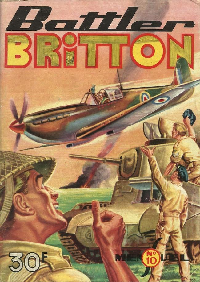 Couverture de Battler Britton -10- Bataille du désespoir