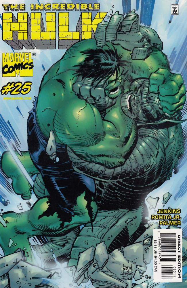 Couverture de Incredible Hulk (The) (Marvel comics - 2000) -25- Always on my mind