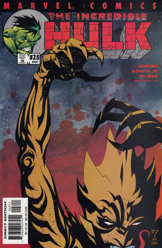 Couverture de Incredible Hulk (The) (Marvel comics - 2000) -28502- Once in a lifetime