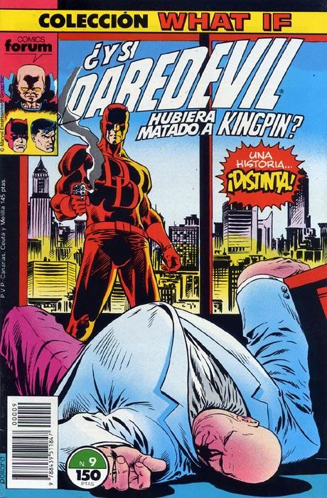 Couverture de What If? (édition espagnole) -9- ¿Y si Daredevil hubiera matado a Kingpin?