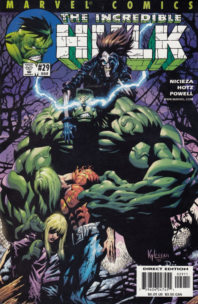 Couverture de Incredible Hulk (The) (Marvel comics - 2000) -29503- Animus