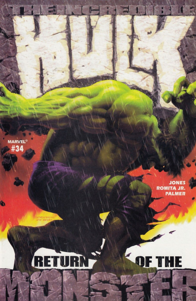 Couverture de Incredible Hulk (The) (Marvel comics - 2000) -34- The morning after