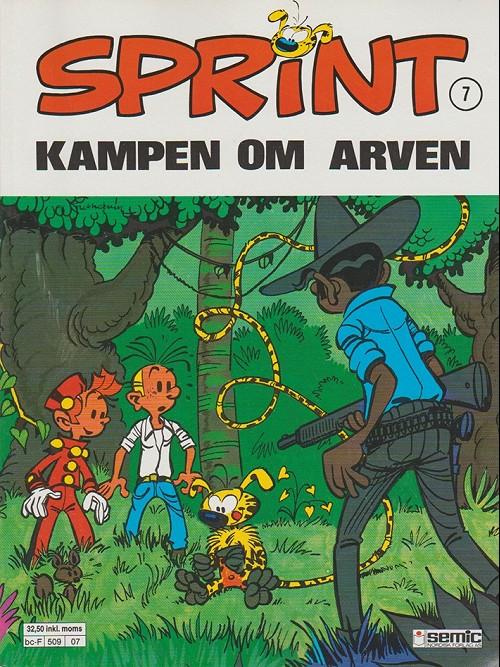 Couverture de Sprint -7- Kampen om arven