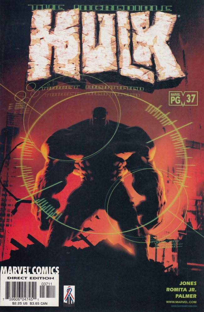 Couverture de Incredible Hulk (The) (Marvel comics - 2000) -37- You must remember this...