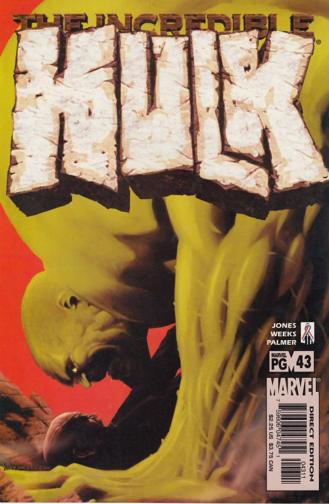 Couverture de Incredible Hulk (The) (Marvel comics - 2000) -43- The beast within