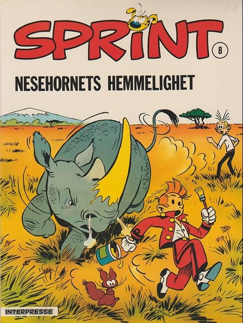 Couverture de Sprint -8- Nesehornets hemmelighet