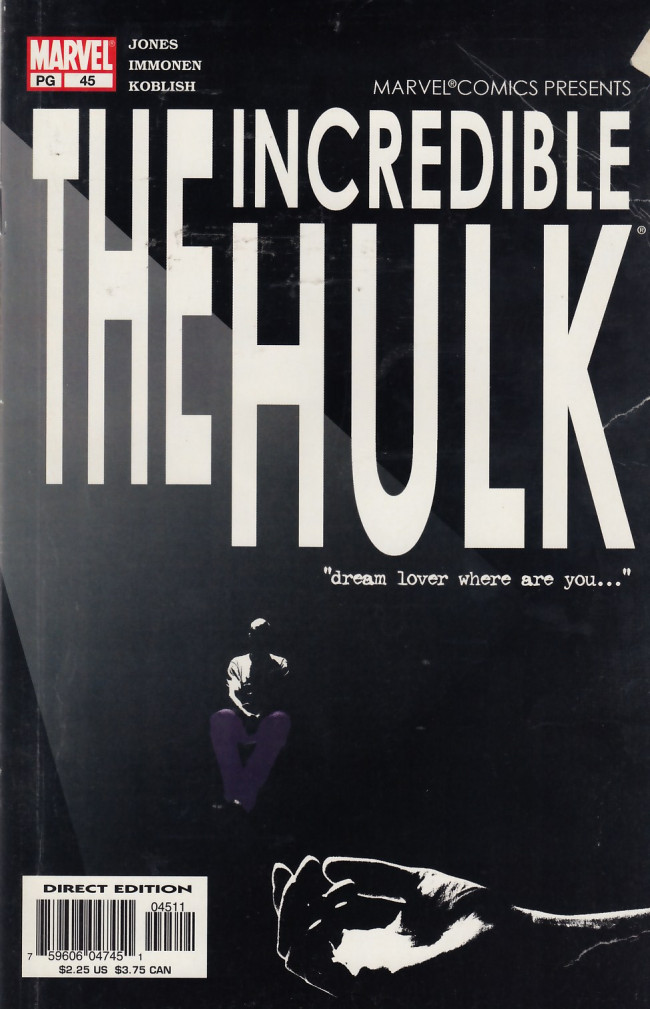 Couverture de Incredible Hulk (The) (Marvel comics - 2000) -45- Remember me never