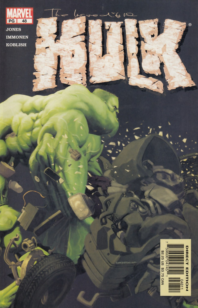 Couverture de Incredible Hulk (The) (Marvel comics - 2000) -48- From here to infinity