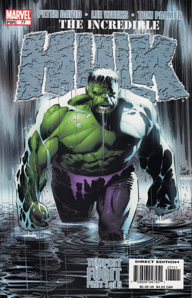 Couverture de Incredible Hulk (The) (Marvel comics - 2000) -77- Tempest fugit part 1 of 5