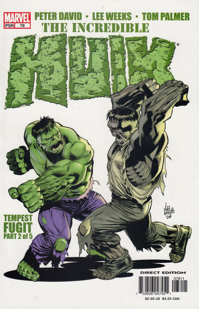 Couverture de Incredible Hulk (The) (Marvel comics - 2000) -78- Tempest fugit part 2 of 5