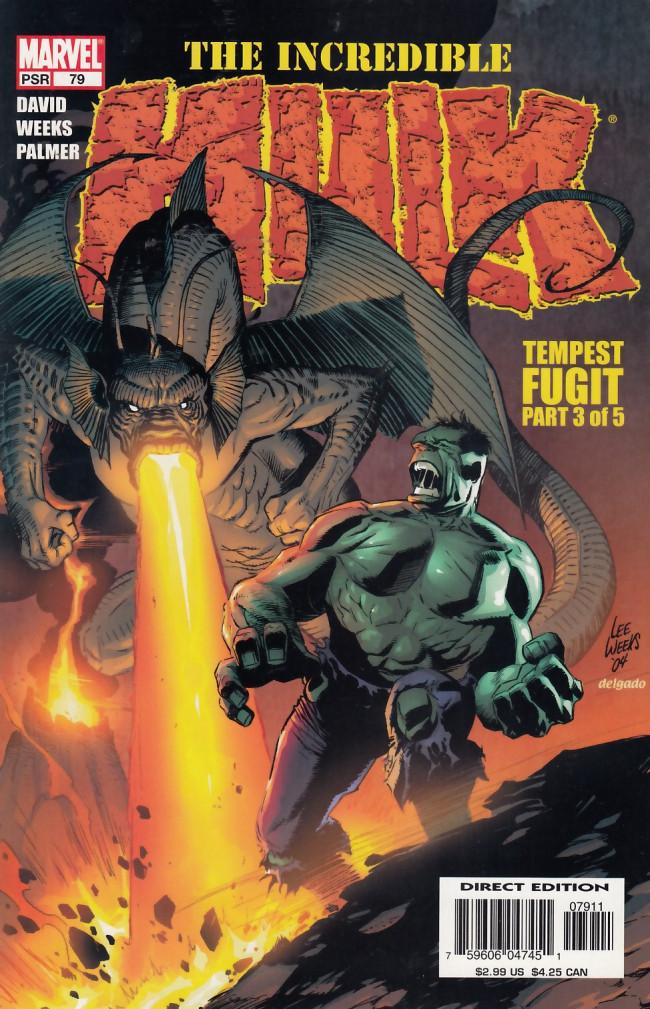 Couverture de Incredible Hulk (The) (Marvel comics - 2000) -79- Tempest fugit part 3 of 5